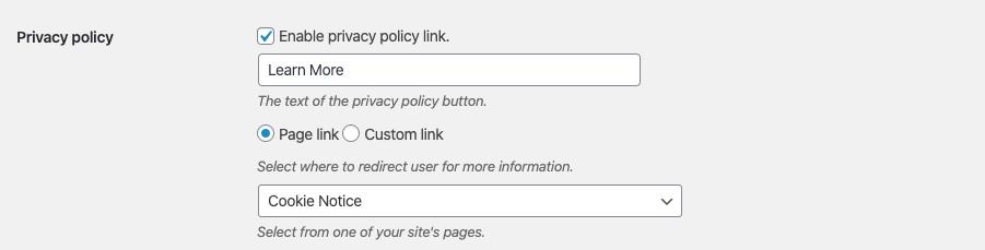 netzone cookie notice tutorial step 6